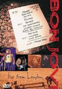 Cover Bon Jovi - Live From London [DVD]